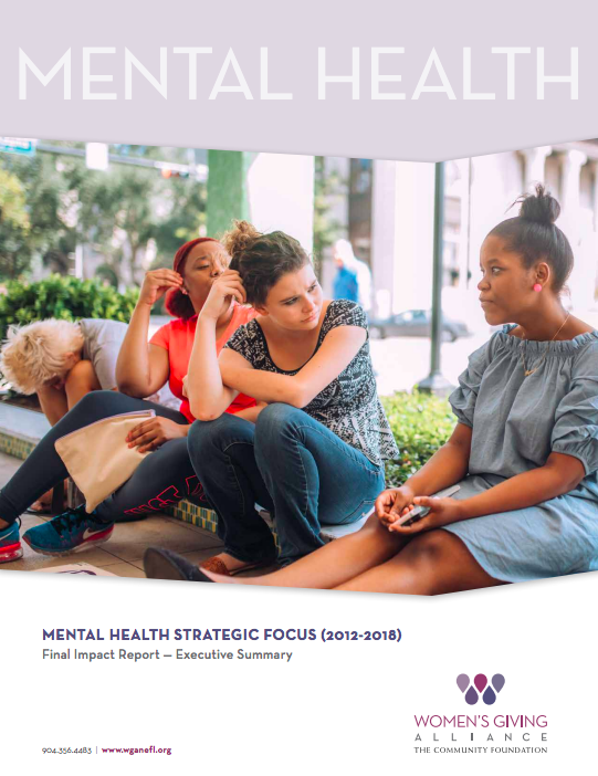 Mental Health Report Executive Summary Cover